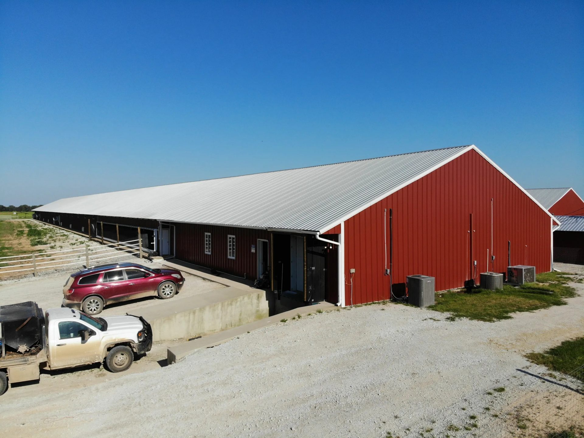 red barn Alliance Roofing & Construction